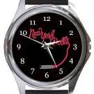 New York Dolls Round Metal Watch