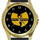 Wu-Tang Clan Gold Metal Watch