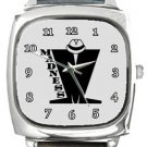 Madness Square Metal Watch