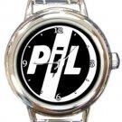 Public Image Ltd Round Italian Charm Watch