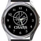 Crass Round Metal Watch