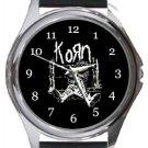 Korn Round Metal Watch
