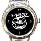Gorillaz Round Italian Charm Watch