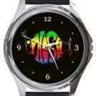 Phish Round Metal Watch