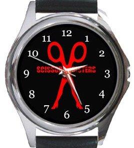 Scissors Sisters Round Metal Watch