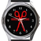 Scissors Sisters Round Metal Watch