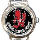 Insane Clown Posse Round Italian Charm Watch