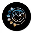 Blink-182 Heat-Resistant Round Mousepad