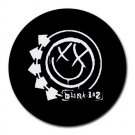 Cool Blink-182 Heat-Resistant Round Mousepad