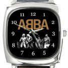 ABBA Square Metal Watch