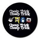 Cheap Trick Heat-Resistant Round Mousepad