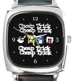 Cheap Trick Square Metal Watch