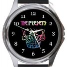 The Presets Round Metal Watch
