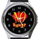 No Doubt Round Metal Watch