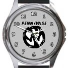 Cool Pennywise Round Metal Watch