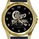 Chicago Gold Metal Watch