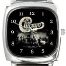 Chicago Square Metal Watch