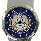 University of Pittsburgh Money Clip Watch