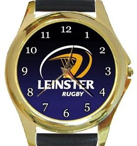 Leinster Rugby Gold Metal Watch