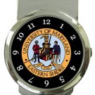 University of Maryland Eastern Shore Money Clip Watch