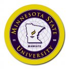 Minnesota State University Heat-Resistant Round Mousepad