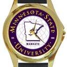 Minnesota State University Gold Metal Watch