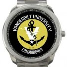 Vanderbilt University Sport Metal Watch