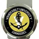 The Vanderbilt Commodores Money Clip Watch