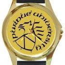 Cool Purdue University Gold Metal Watch