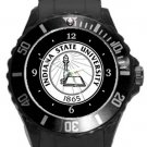 Indiana State University Plastic Sport Watch In Black