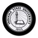 Indiana State University Heat-Resistant Round Mousepad