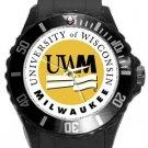 University of Wisconsin Milwaukee Plastic Sport Watch In Black
