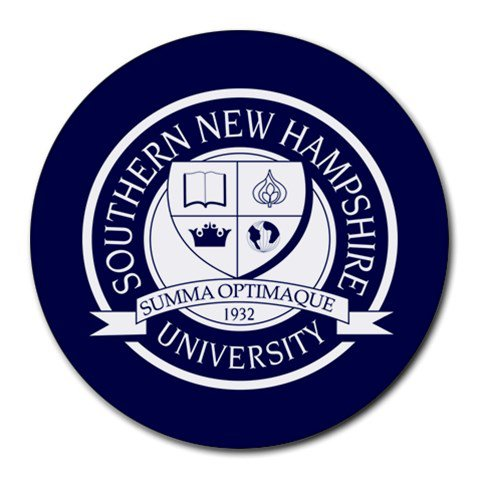Southern New Hampshire University Heat-Resistant Round Mousepad
