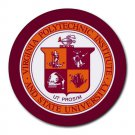Virginia Polytechnic Institute and State University Heat-Resistant Round Mousepad