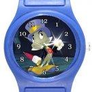 Jiminy Cricket Pinocchio Blue Plastic Watch