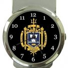 US Naval Academy Money Clip Watch