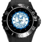 Air Force Academy Plastic Sport Watch In Black