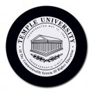 Temple University Heat-Resistant Round Mousepad