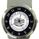 Temple University Money Clip Watch