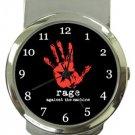 Rage Against The Machine Money Clip Watch