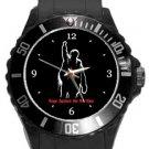 Rage Against The Machine Plastic Sport Watch In Black