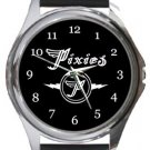 Pixies Logo Round Metal Watch