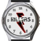 The Killers Logo Round Metal Watch