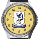 Enfield Town FC Round Metal Watch