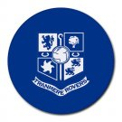 Tranmere Rovers FC Heat-Resistant Round Mousepad