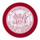 Massachusetts Institute of Technology MIT Heat-Resistant Round Mousepad