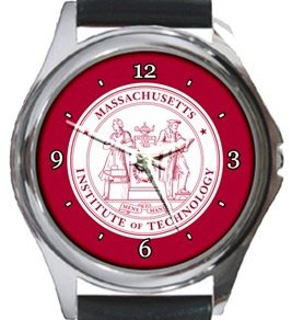 Massachusetts Institute of Technology MIT Round Metal Watch