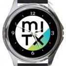MITx Round Metal Watch