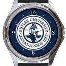 Butler University Round Metal Watch
