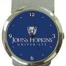 Johns Hopkins University Money Clip Watch